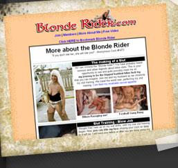 Blonde Rider